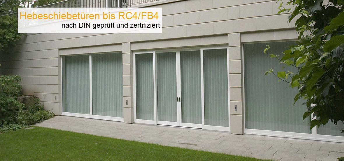 hebeschiebet ren nach din en 1627 in rc3 und rc4 sicherheitst ren. Black Bedroom Furniture Sets. Home Design Ideas